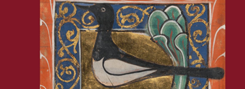Diz vliegende bîspel book cover of decorative bird